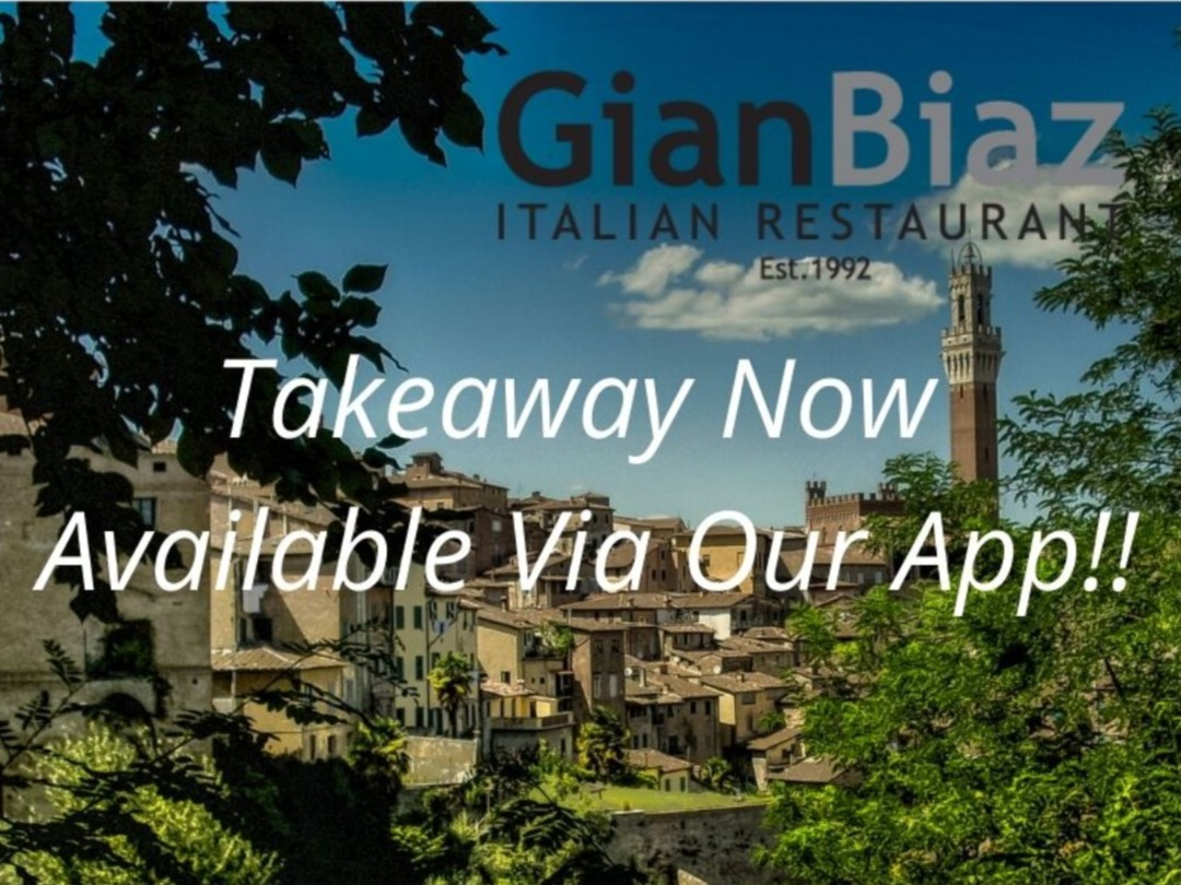 Takeaway Now Available Via Our App!!