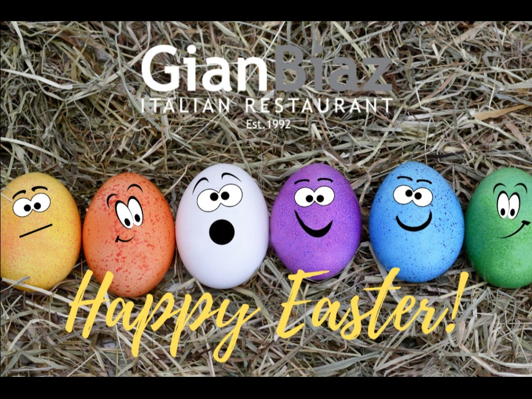 Wishing you a Wonderful Easter from GianBiaz Restaurant!